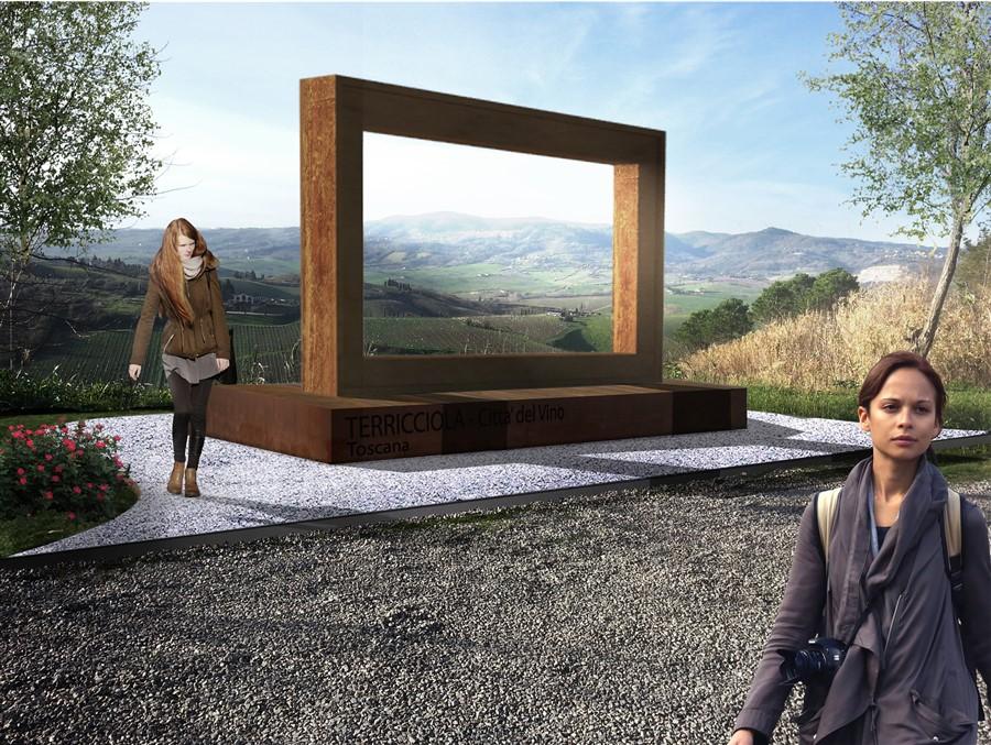 Realizzazione di seduta panoramica
